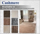 Cashmere Luxurious Wool Floor Rug Collection
