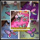 XL Butterfly Floor Rugs