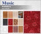 Music - Contemporary Wool Floor Rugs