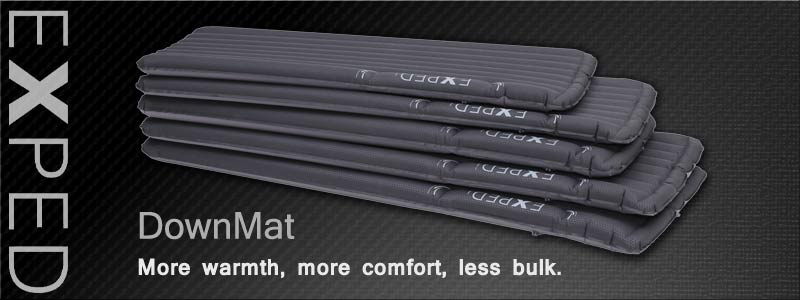 Exped DownMats are available at Kellys's Basecamp at great prices