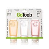 Humangear - 3 Pack GoToob Medium (60ml) Silicone Squeezable Travel Tube