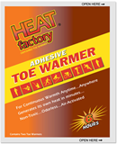 Heat Factory- Adhesive Toe Warmer
