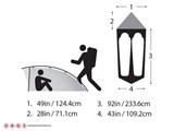 Easton Kilo 2p Tent FOOTPRINT