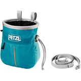 Petzl - Sakapoche Ergonomic Shape Chalk Bag with pocket