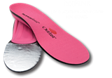 Superfeet - hotPINK Women's Cold Weather Insole