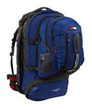 Black Wolf - Cedar Breaks 55 Travel Backpack and Zip-Off Daypack