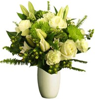 White Seasonal Flowers, From $55