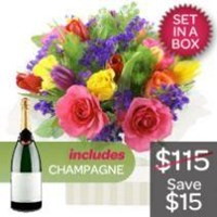Bright Mix Arrangement With Sparkling