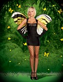 Mistress Butterfly Costume
