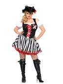 Plus Size Pirate Booty Babe Costume