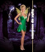 Pixie Lust Costume with Light Up Wings