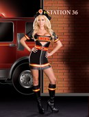 Smokin Hot Fire Fighter Costume
