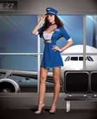First Class Flirt Airline Captain Costume