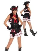 Dirty Desperado Cowgirl Costume