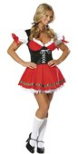 Hoffbrau Honey Sexy German Beer Girl Costume