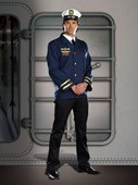 Captain Hugh G Vessel Sailor Costume
