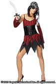 Hot Pirate Girl Costume