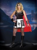 Plus Size Battle Babe Warrior Costume