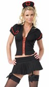 Dark Gothic Nurse Costume