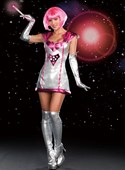 Lost in Space Spacegirl Costume