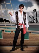 Captain One Eyed Willy Pirate Costume