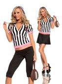 Sideline Sweetie Referee Costume
