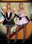 Twice As Dirty Maid Costumes - 2 Costumes in One
