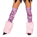 Fur Leg Warmer Stockings