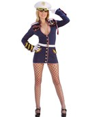 General Mayhem Navy Costume