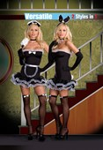 Hop To It Bunny & French Maid Honey - 2 Costumes in One