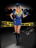 Getting Busted Police Girl Costume