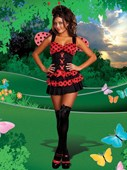 Lovely Lady Bug Costume
