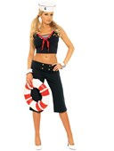 First Mate Sailor Girl Costume
