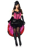 Highkick Honey Burlesque Costume