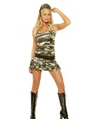 Cadet Cutie Army Girl Costume