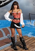 Pirate Pin Up Costume