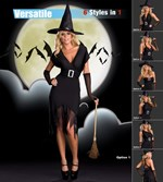 Crafty Witch - Six Styles in One Costume