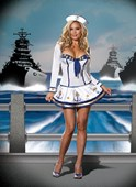 Plus Size Anchors Away Sailor Girl Costume