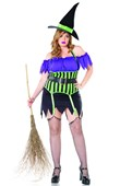 Plus Size Spell Binding Witch Costume