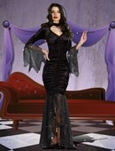 Mysterious Mistress Morticia Costume