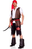 Buccaneer Men's Pirate Costume