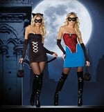 Feline Beauty to Spider Girl Costume - 2 Costumes in One