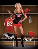 Touch Down Footballer Player Costume