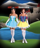 Damsels in Distress Cinderella & Snow White - 2 Costumes in One