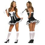 Super Sexy Maid Adult Costume
