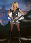 Metal Maiden Warrior Costume