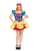 Plus Size Fale Tale Snow White Costume