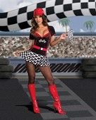 Built for Speed Light Up Racer Girl Costume