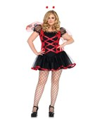 Plus Size Lovely Lady Bug Costume