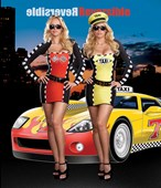 Drive Me Crazy Race Car Driver & Taxi Driver - 2 Costumes in One